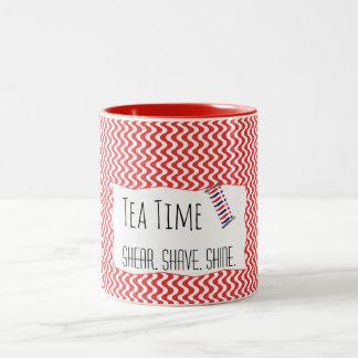 Barber Red Collection Tea Time Mug