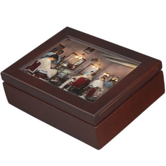 Barber - Senators-only barbershop 1937 Keepsake Box