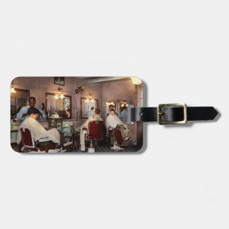 Barber - Senators-only barbershop 1937 Luggage Tag