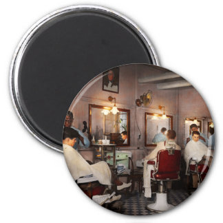 Barber - Senators-only barbershop 1937 Magnet