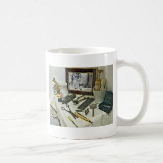 Barber Shop Basic White Mug