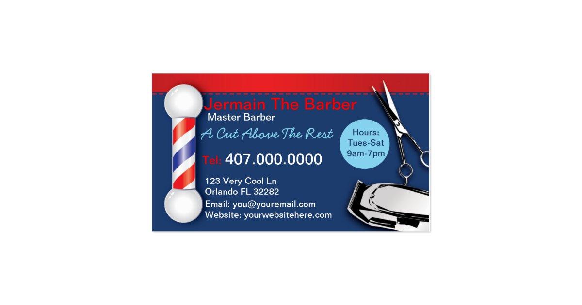 barber logos business cards - photo #23