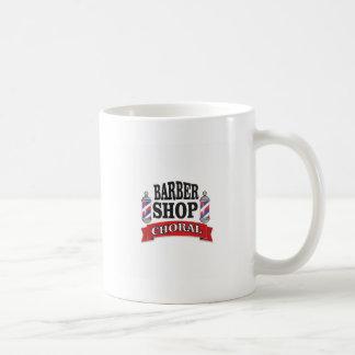 barber shop choral coffee mug