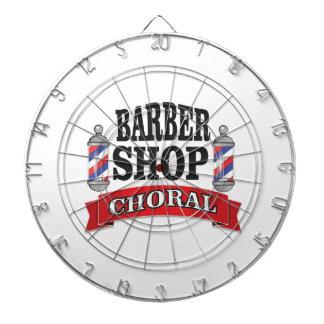 barber shop choral dartboards