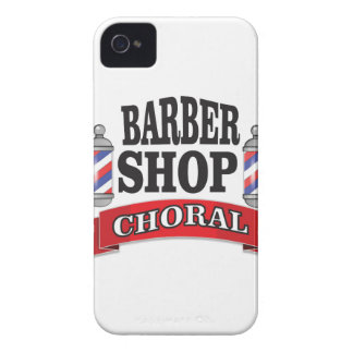 barber shop choral iPhone 4 cases