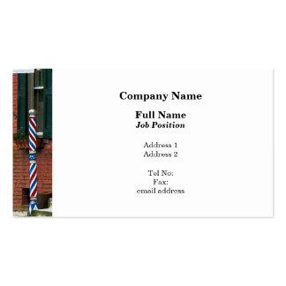 Barber Shop Entrance Pack Of Standard Business Cards