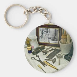 Barber Shop Key Ring