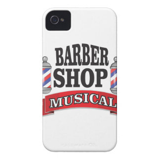 barber shop musical iPhone 4 Case-Mate cases