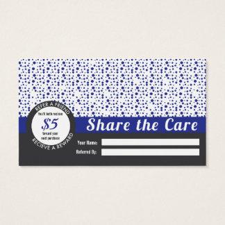 Barber Shop Referral Business Card