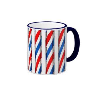 Barber Stripes Coffee Mug