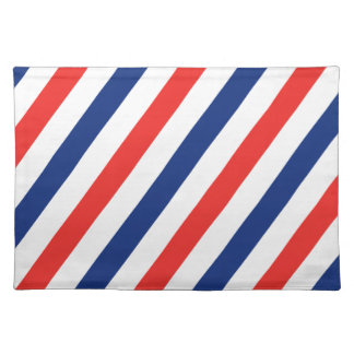 Barber Stripes Placemats