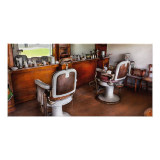 Barber - The Hair Stylist Custom Photo Card