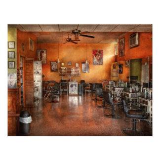 Barber - Union, NJ - The modern salon 21.5 Cm X 28 Cm Flyer