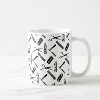 Barber's Shop Pattern Coffee Mug