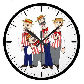 Barbershop Clock