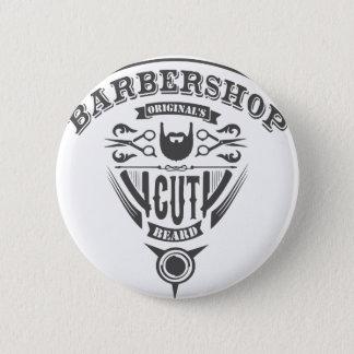 Barbershop originals vintage 6 cm round badge