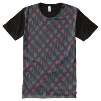 barbershop pole All-Over print T-Shirt