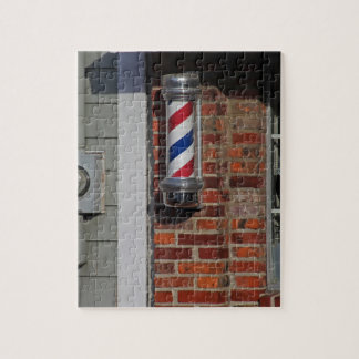 Barbershop Pole Vector Jigsaw Puzzle