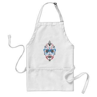barbershop sugar skull standard apron