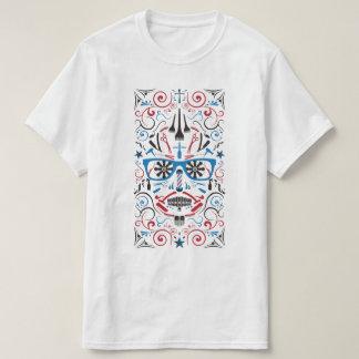 barbershop sugar skull T-Shirt