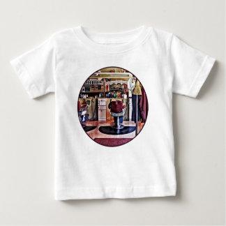 Barbershop With Coat Rack Baby T-Shirt