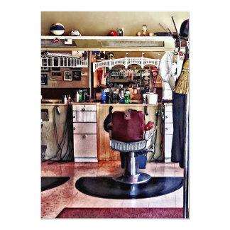 Barbershop With Coat Rack Card