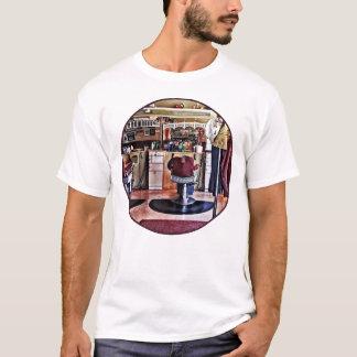 Barbershop With Coat Rack T-Shirt