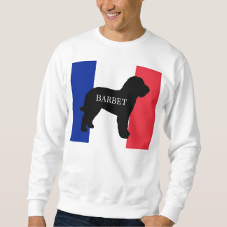 barbet name silo France flag Sweatshirt