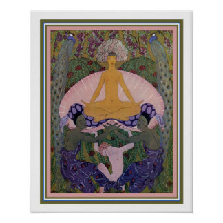 "Barbier Art Deco ""The Birth of Venus"" 16x20 Poster"