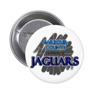 Barbour County High School Jaguars - Clayton AL Pin