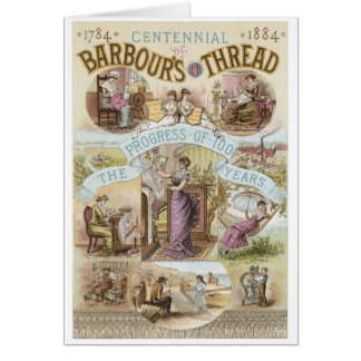 Barbours Thread Greeting Card