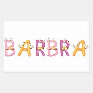 Barbra Sticker