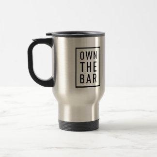 BARBRI #OwnTheBar Travel Mug