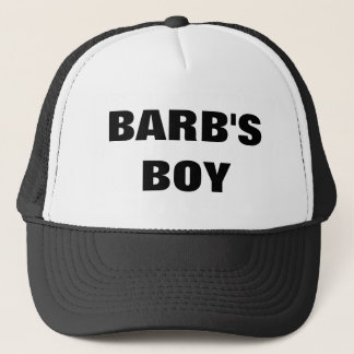 BARB'S BOY TRUCKER HAT