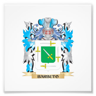 Barbuto Coat of Arms Photograph