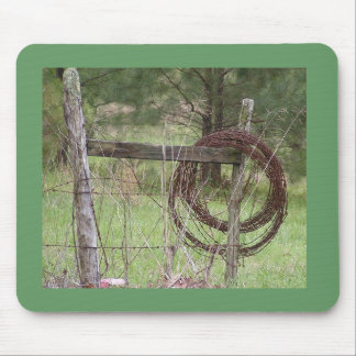 Barbwire Mouse Pad