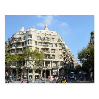 Barcelona 2013 Calendar Postcard