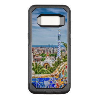 Barcelona and Park Guell Bench Unique OtterBox Commuter Samsung Galaxy S8 Case