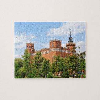Barcelona castle puzzle