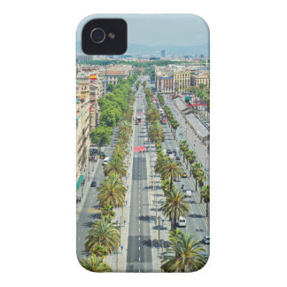Barcelona from above iPhone 4 case