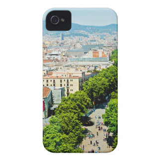 Barcelona from above iPhone 4 cover
