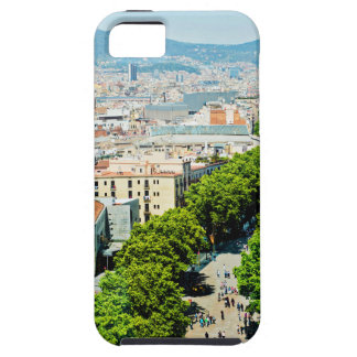 Barcelona from above iPhone 5 case