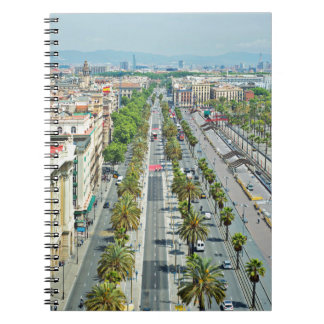 Barcelona from above notebook