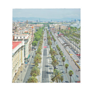 Barcelona from above notepads