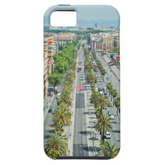 Barcelona from above tough iPhone 5 case