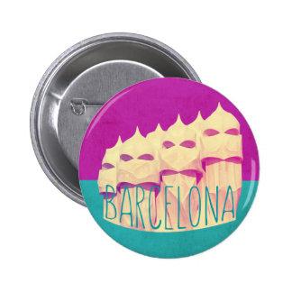 Barcelona Gaudi Paradise 6 Cm Round Badge