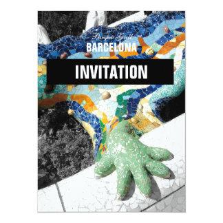 Barcelona Gaudi Park Guell Card
