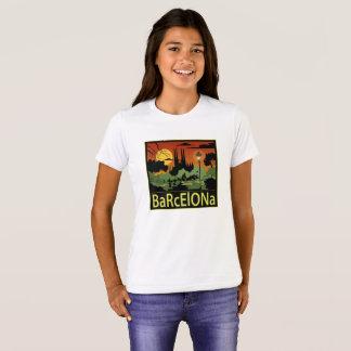 Barcelona Girl's T-Shirt