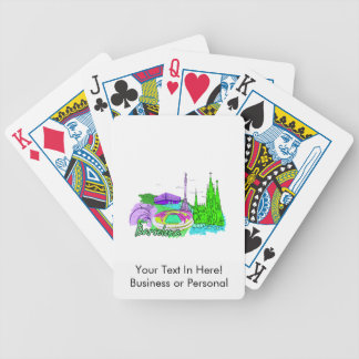 barcelona green 2 city image.png bicycle playing cards