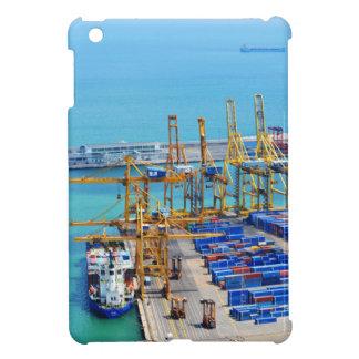 Barcelona harbour iPad mini covers